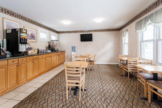 Travelodge Great Barrington Berkshires: Breakfast Area