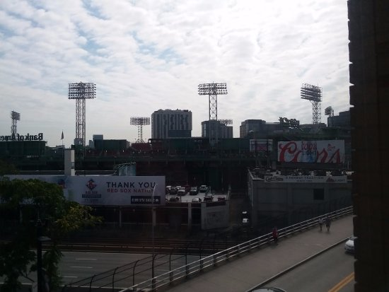 Boston Hotel Buckminster: View of Fenway from room 414