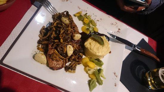 Soultz-les-Bains, France : Très bon repas au restaurant Le Rodéo ! On se régale !