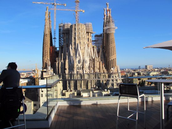 View From The Rooftop Terrace Bild Von Ayre Hotel Rosellon
