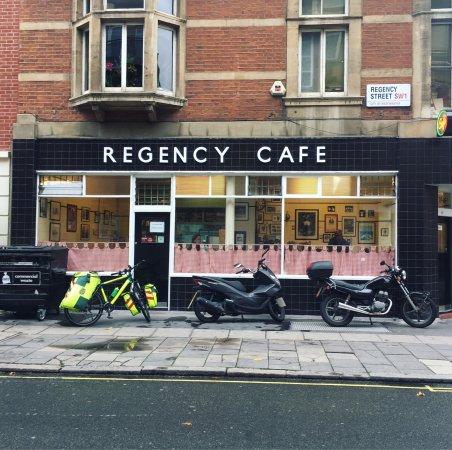 Regency Cafe London Menu