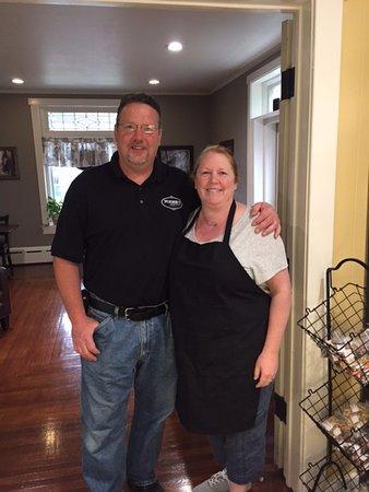 Meyersdale, PA: Michele and husband