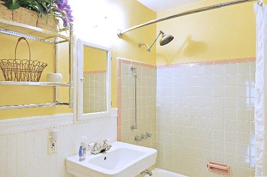 Saugatuck, MI: bath Jan's Cottage