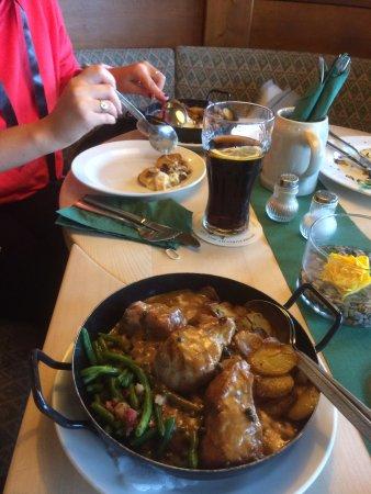 Lauenau, Germany: excelente comida