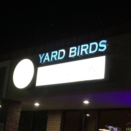 Trussville, AL: Yard Birds after dark