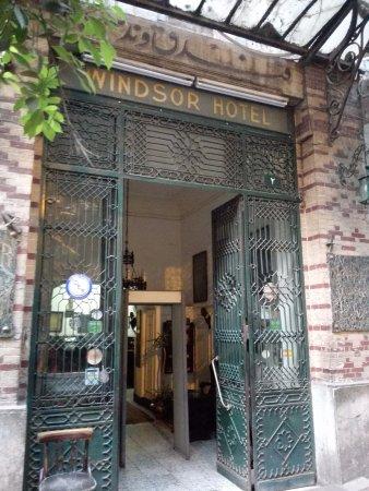 Windsor Hotel Cairo: Hotel entrance