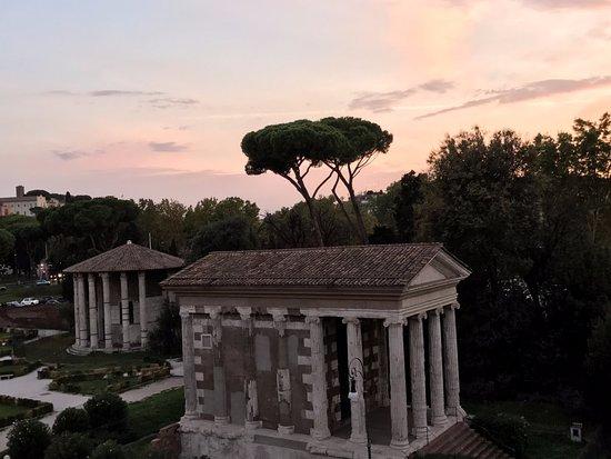 Fortyseven Hotel Rome: Forum Boário e Templo de Hercules