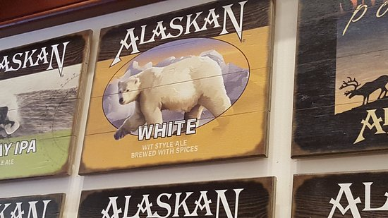 Alaskan Brewery and Bottling Company: Wonderful selection of T-shirts