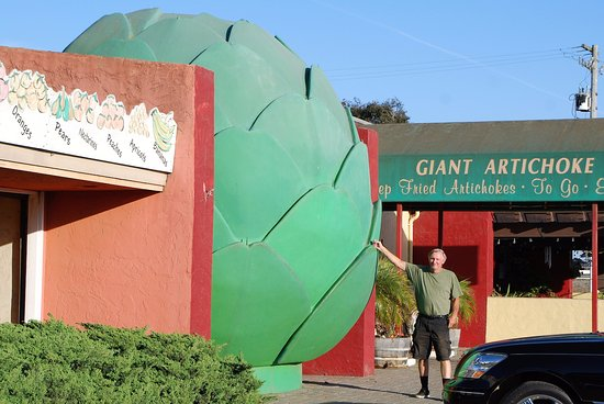 Castroville, Kalifornien: world's largest artichoke