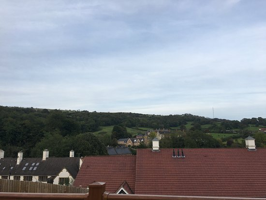 Wookey Hole Hotel: View from lodge number 7