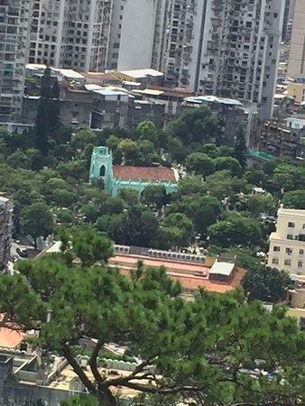 Guia Fortress: Vista da cidade da ou Guia Lighthouse