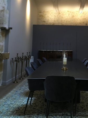 Moulon, Francia: Dining area