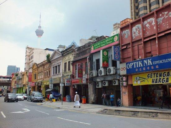 Hotel 1915 Kuala Lumpur : quartier de l'hotel 1915