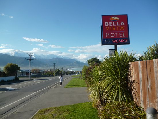 Bella Vista Motel Kaikoura: SHORT WALK TO TOWN , PERFECT VIEWS