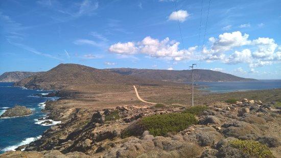 Asinara, Italy: I due mari