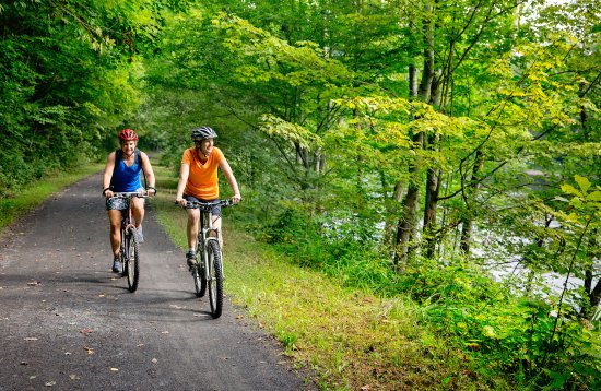 Caldwell, WV: Greenbrier River Rails-to-Trails