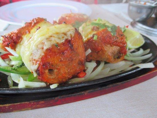 Restaurante Milan: Benalmadena - Milan - Cheese Chicken Tikka !