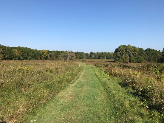 Stillwater, Estado de Nueva York: The path across the fields where the battle occured