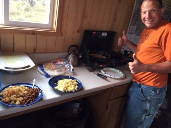 Fruita, CO: Nice accommodations. It helps to have a cook riding with you.
