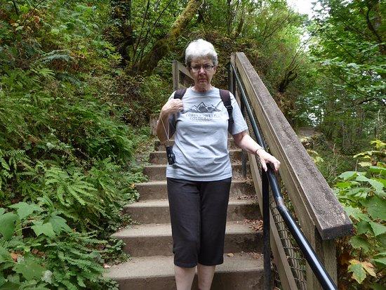 Corbett, OR: Stairs