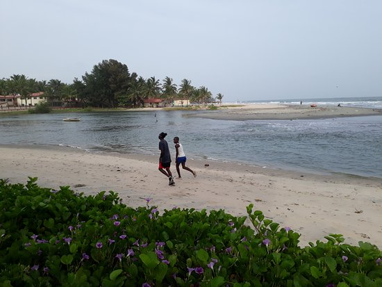 Kotu Beach: The beach near Kotu river.