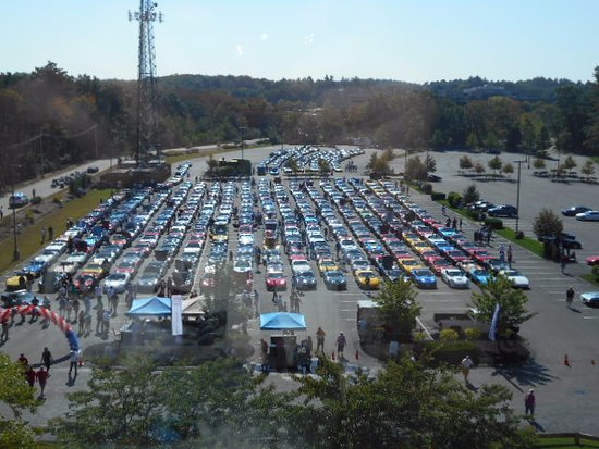 Courtyard Boston Billerica/Bedford: 14th Annual Vettes to Vets Gathering at Courtyard Marriott Hotel in Billerica, MA