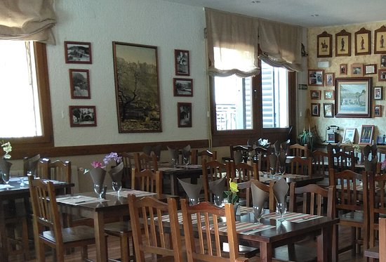Pont del Gat Restaurant: Comedor principal