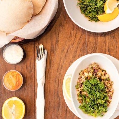 Almadina woodstone oven grill waterloo restaurant for Almadina egyptian cuisine
