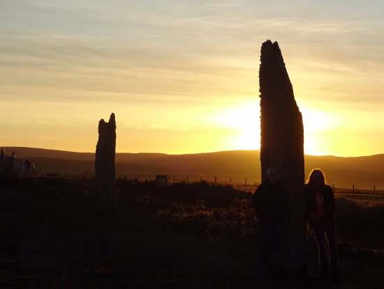 Stenness, UK: Sunset