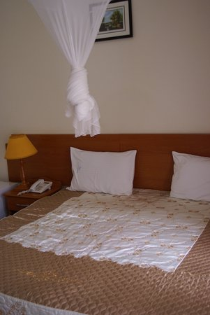 La Palme Hotel: Bed offered a really good night's sleep