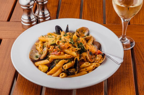 Seafood Penne Pasta Picture Of Pier Market Seafood