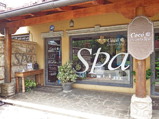 Coco Beauty Spa : Our Spa is in the row of shops across the street from Casino Diria