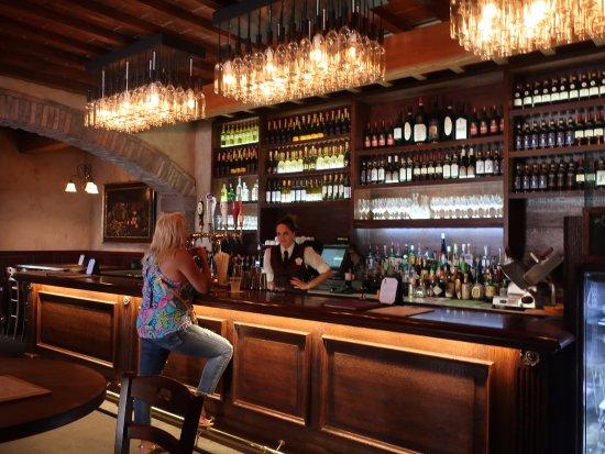 nice bar area picture of tutto gusto wine cellar orlando tripadvisor. Black Bedroom Furniture Sets. Home Design Ideas