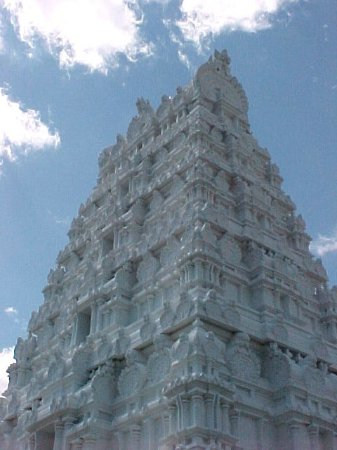 Lemont, IL: Angle From Base of Main Temple