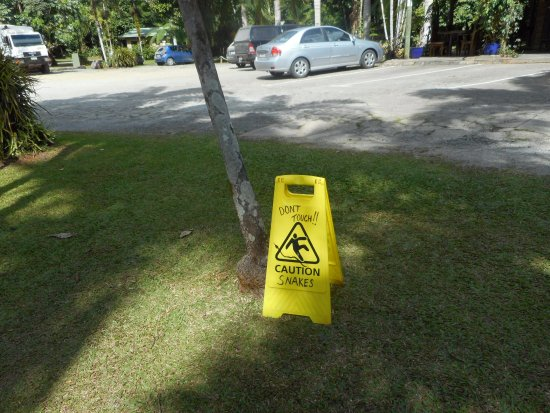 Diwan, Australia: Careful