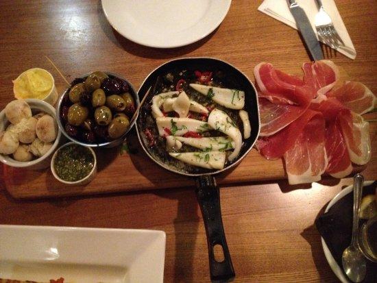 Delicatezze: Sharing platter
