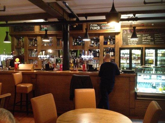 Delicatezze: Restaurant Interior - Bar Area