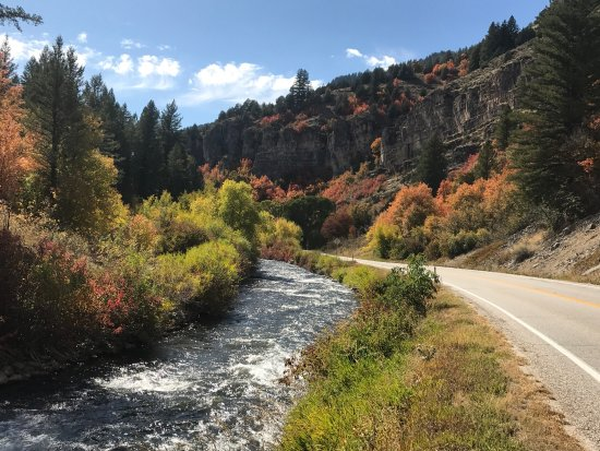 Logan Canyon Scenic Drive