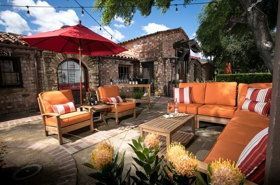 Holman Ranch Tasting Patio