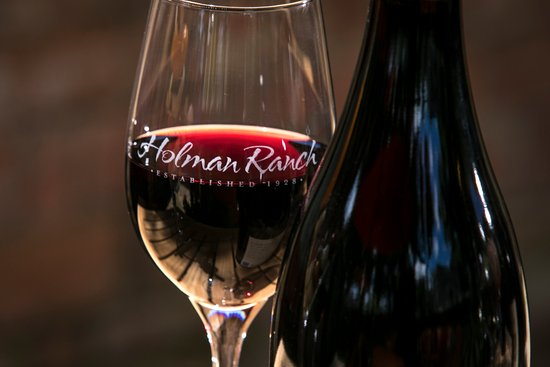 Holman Ranch Tasting Patio: Holman Ranch is known for it's Pinot Noirs