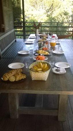 Kurakura Homestay: beautiful breakfast