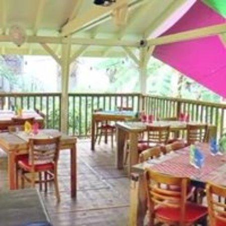 Le Carbet, Martinica: la terrasse