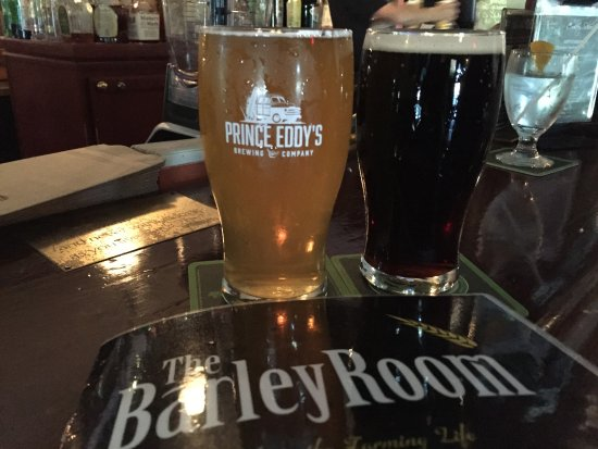 The Waring House: Beer at the Barley Room