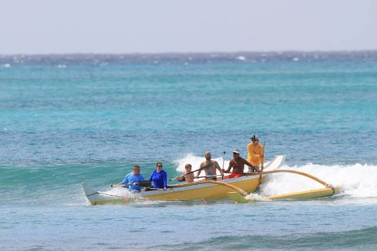 Big Wave Dave Surf Co: Big Wave Dave's Outrigger Canoe