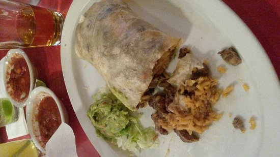 Sun City, Californien: Very good Burrito