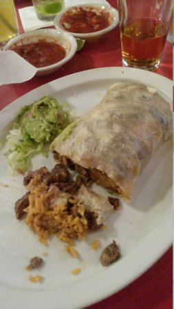 Sun City, Californie : Very good Burrito