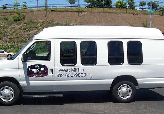 เวสต์มิฟฟลิน, เพนซิลเวเนีย: Complimentary Local Van Service