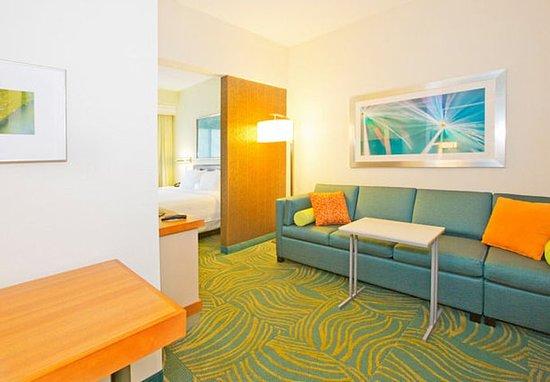 West Mifflin, PA: Studio Suite Living Area