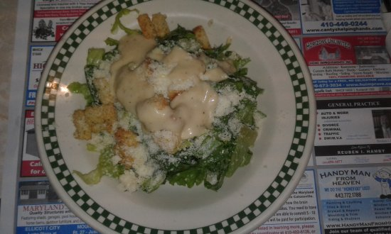 Ellicott City, Мэриленд: Caesar Salad