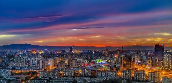 The Westin Beijing Chaoyang: Night view